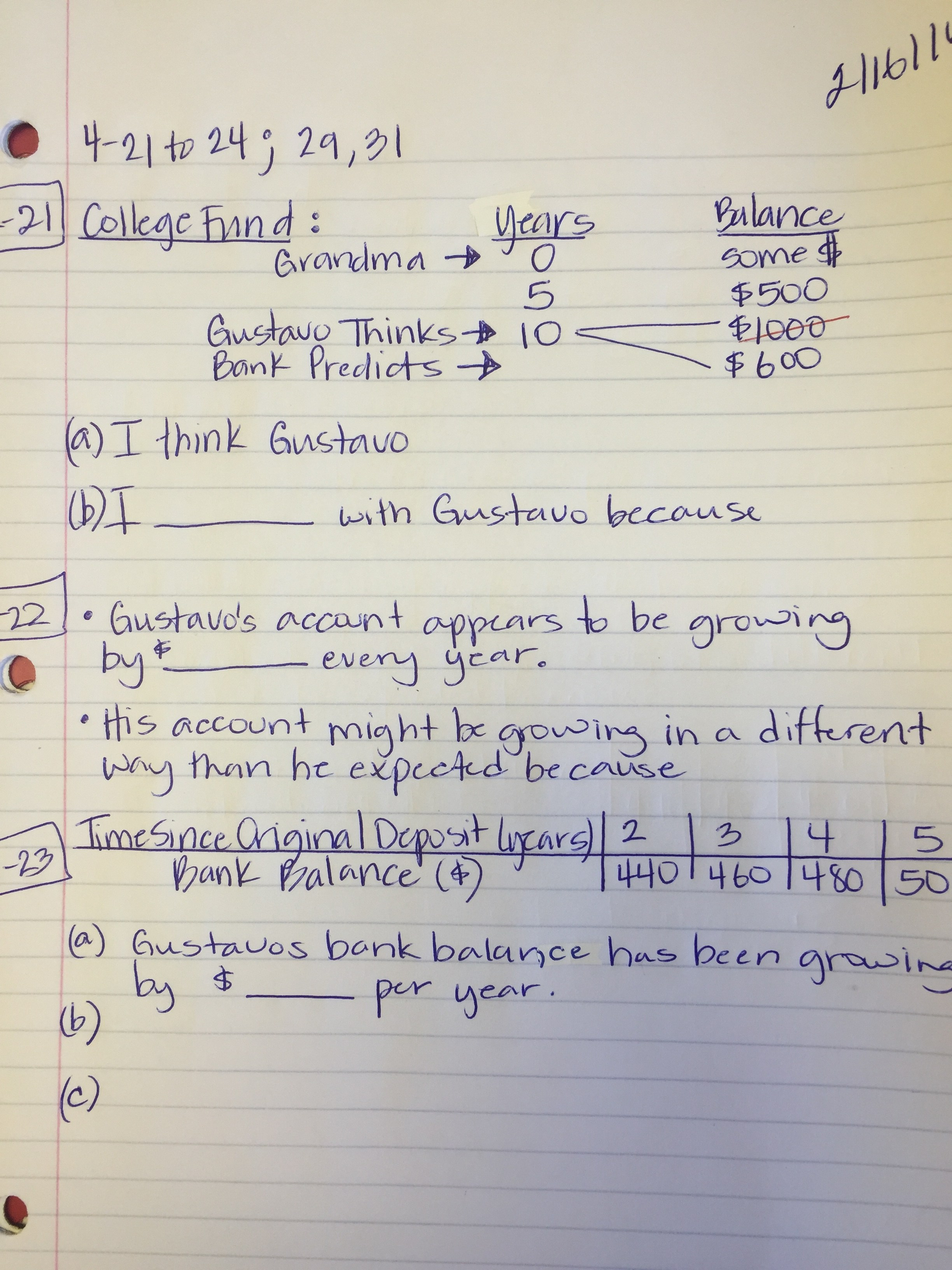 Core connections algebra chapter 9 | A Plus Algebra